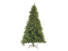 Crystal Pine Tree 9' Prelit Multi Lights