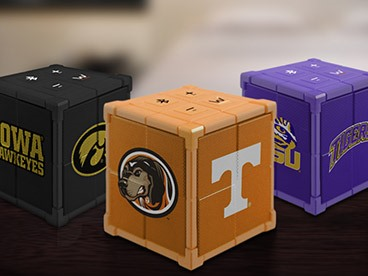 KUBE Bluetooth Collegiate Speakers