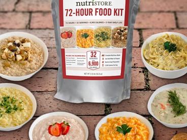 Nutristore Freeze Dried Food Kits