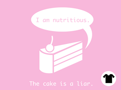 The Cake is a Liar Remix - Pink
