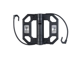 LED Mini Folding Work Light; Black