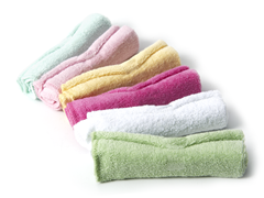 Wash Cloths (set of 6) Pink
