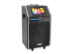 """Karaoke Bluetooth PA System w/ 8"""" Woofer / 7"""" LCD"""