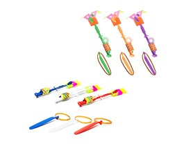 LED Flyer Rocket Shooters Multicolor 6Pk