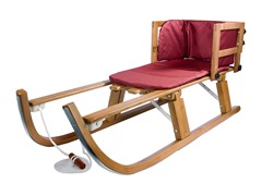 Lucky Bums Wood Heirloom Pull Sled