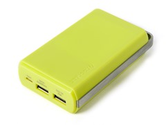 Powa 10,000 mAh Mobile Power Bank -Green