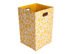 Rusty Giraffe Canvas Folding Laundry Bin
