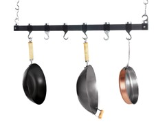 "36"" Ceiling Rack - Polyacrylates Black"
