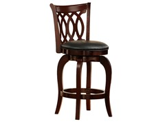 Homelegance Swivel Motif Design Stool (2 Sizes)