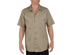 Short Sleeve, Two-Pocket - Khaki