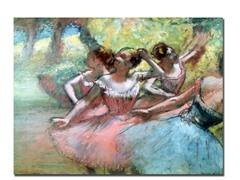 Edgar Degas Four Ballerinas on the Stage