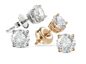 M. Geller Certified Diamond Studs