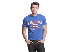 Manchester Applique S/S T-Shirt (S/2XL)