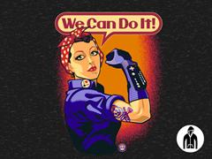 Rosie the Retrogamer LW Zip Hoodie