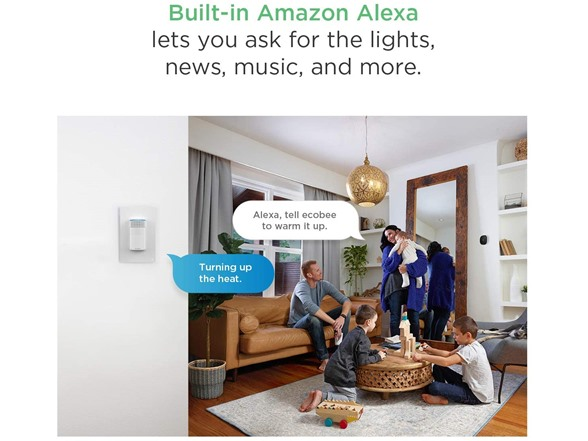 Image of Ecobee Switch+ Smart Switch With Alexa