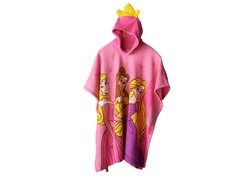 Disney Princess Hooded Poncho - Youth