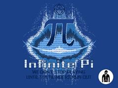 Infinite Pi Zip-Up Hoodie