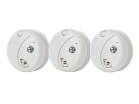 First Alert Smoke Alarms, 3-Pack
