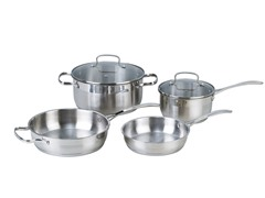 Kevin Dundon 6 Piece Cookware Set SS