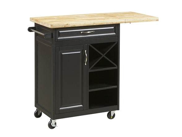 1-Drawer Kitchen Cart W/Large Worktop