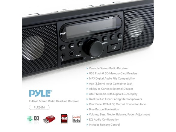 Pyle In-Dash Car Stereo