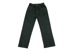 Denim Straight-Fit Jean - Black