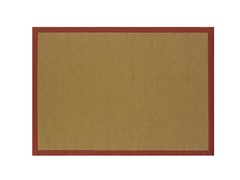 Veranda Beige/Red Rug-7 Sizes