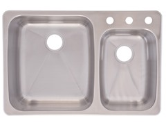 Double Bowl Sink, Stainless Steel