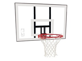 "Spalding 44"" Polycarbonate Backboard"