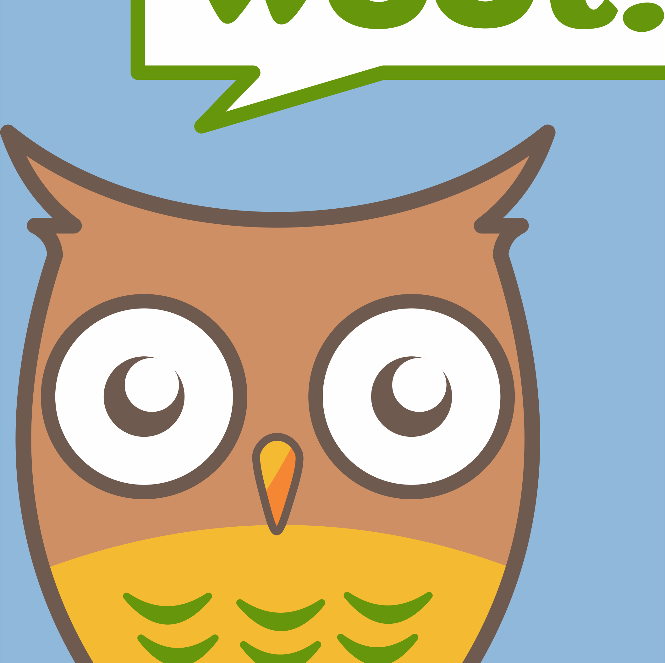 Owl goes Woot!