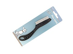 Vista Flea Comb with Handle