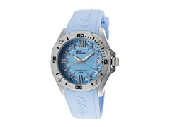 Elini Barokas Baby Blue Silicone Ladies Watch