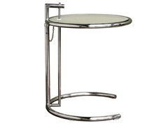 Balthazar Glass Top Accent Table