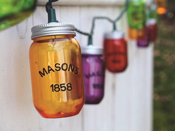 String Lights In A Mason Jar : Mason Jar String Lights- 10 Count