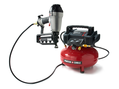 Porter Cable Air Compressor & Nailers