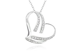 SS Heart Pendant w/ Chain