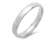 Stainless Steel Plain Band
