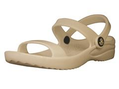 3-Strap Sandal - Tan