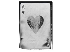 Ace of Hearts Reversed (4 Sizes)