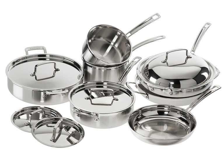 Cuisinart 12 PC MultiClad Pro Cookware Set