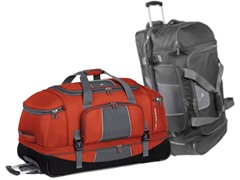 High Sierra Elevate Drop Bottom Duffel - 2 Colors