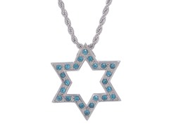Stainless Steel Star of David