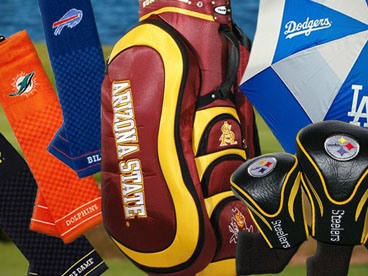 NCAA, NFL, & MLB Golf Equipment
