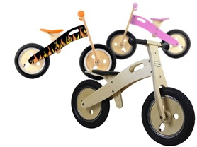 Smart Gear Wooden Balance Bike-8 Choices