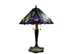 Tiffany Style Victorian Table Lamp