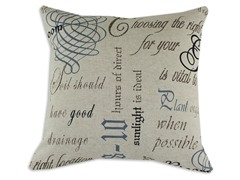 Chatsworth Indigo 17x17 Pillow