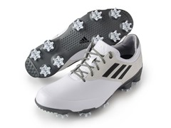 adidas Adizero Shoes- White/Black/Silver