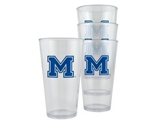 NCAA Plastic Pint 4-Pack - 10 Teams