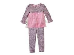 Tunic & Leggings Set - Pink Leopard (2T-4T)