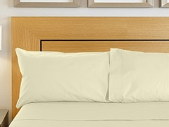 800TC Sheet Set - Ivory - 2 Sizes
